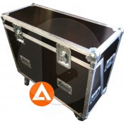 FLIGHT CASE ECRAN PLAT 27/32p