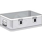 Caisse aluminium Zargal K-470 Plus - Partie Inférieure