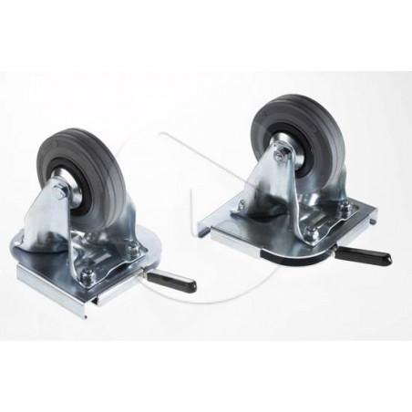 Roulettes Amovibles Pivotantes (la paire)