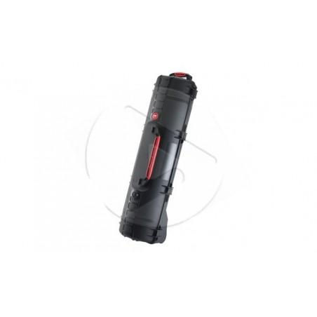 Valise HPRC 6400CW noire avec mousse et roues