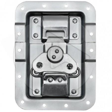 Papillon GL prof 14 mm - fonction push back et passage profilé - zinc - AH_172511