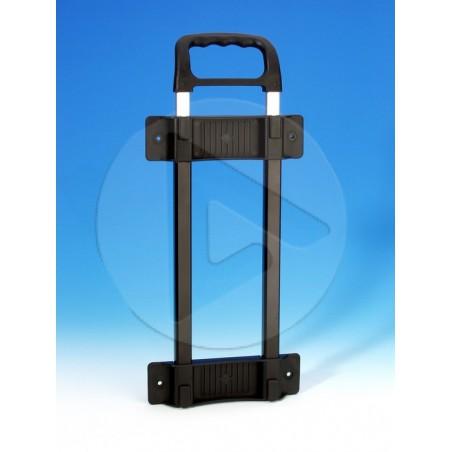 Poignée télescopique Aluminium 2 barres - noir - AH_3471
