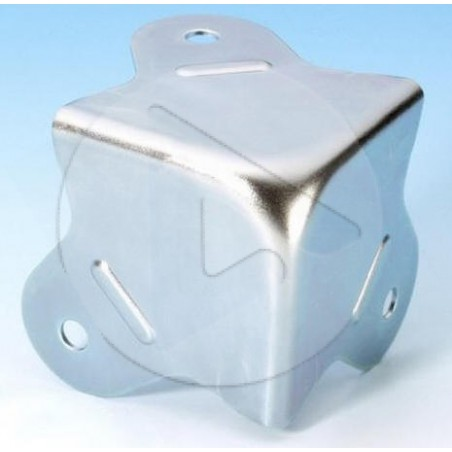 Coin plat - Zinc - AH_4004