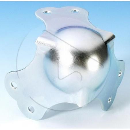 AH_4101 Coin boule GM - acier 1.5mm - Zinc
