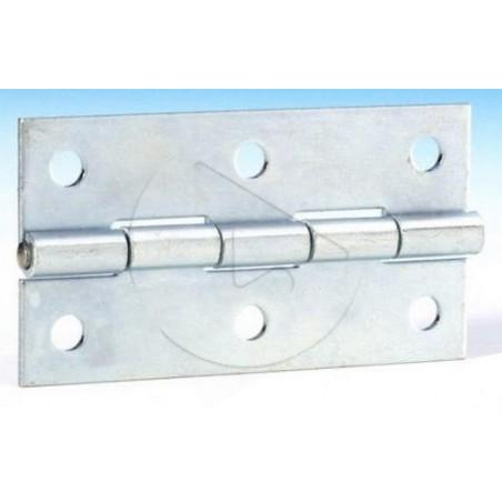 AH_2602 Charnière plate - Zinc