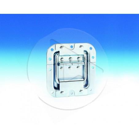 Arretoir de couvercle PM avec charnière encastrable - zinc - AH_27095 A