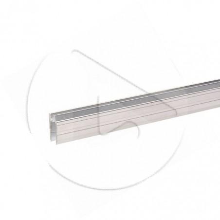 AH_6102 Profilé Hybride alu pour 7mm - Barre de 2 m