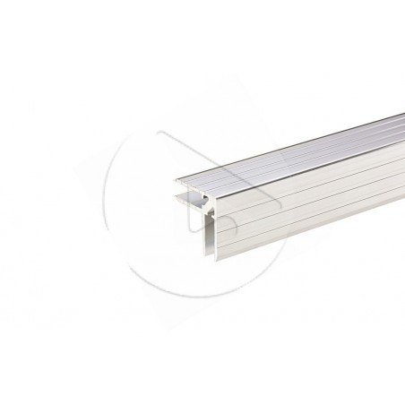 Profilé casemaker Aluminiumpour 7 mm - Barre de 2 m - AH_6106