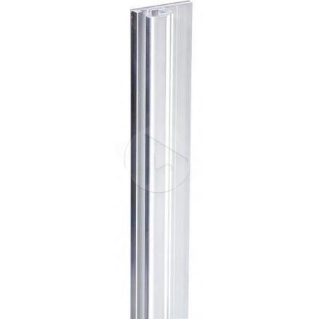 AH_6161 Profilé Rack Alu. Pour écrou carré glissant