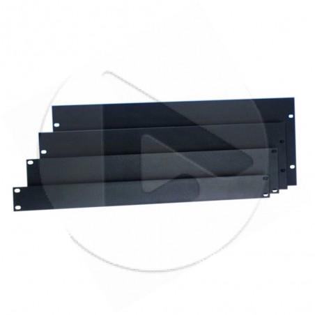 Panneau rack - vierge - en U - 3U - Aluminium - AH_87223