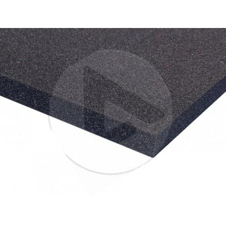 Mousse Plastazote PE noire 200cmx100cmx10mm - AH_019310