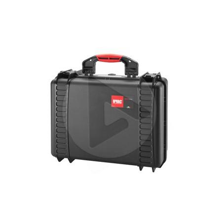 Valise HPRC 2460C noire avec mousse