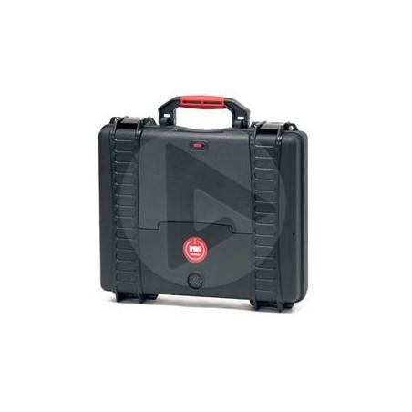Valise HPRC 2580C noire avec mousse