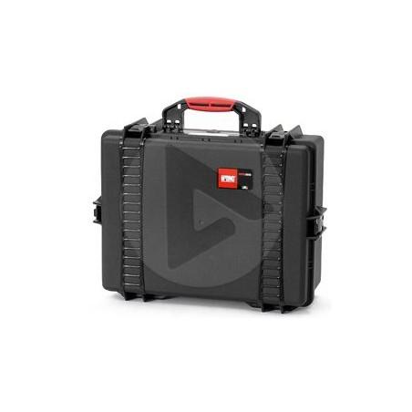 Valise HPRC 2600C noire avec mousse