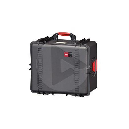 HPRC 2730CW noire avec mousse et roues