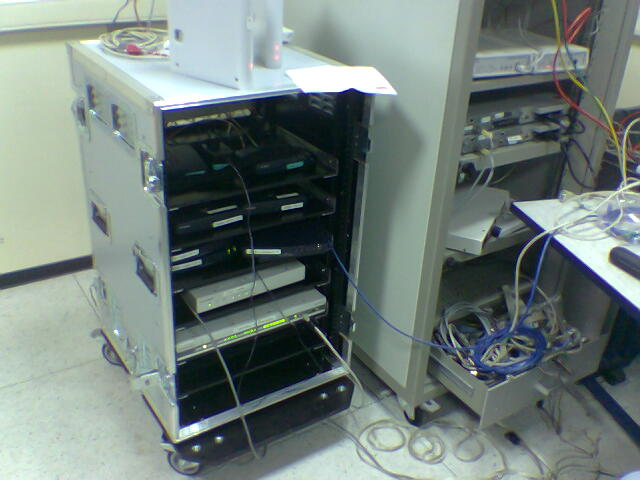 flight case : rack telecom