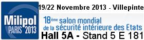 Salon Milipol 2013